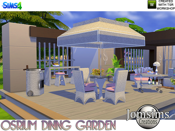 Osrium Dining Garden by jomsims