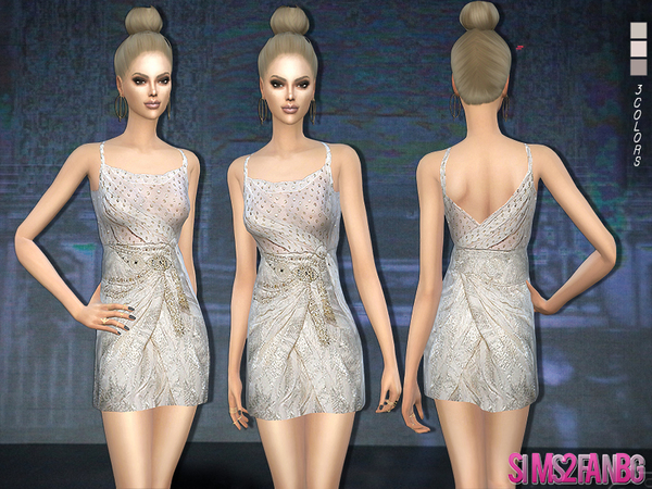 175 - Designer dress by sims2fanbg