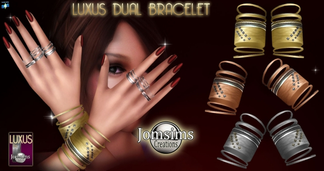 Luxus dual Bracelet by JomSims