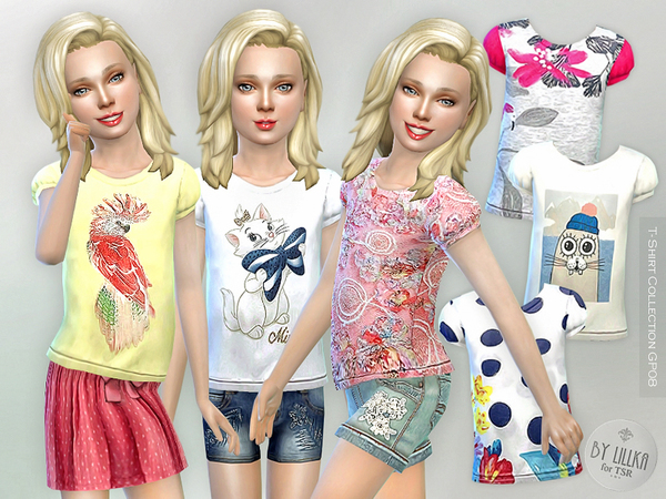 T- Shirt Collection GP08 by lillka