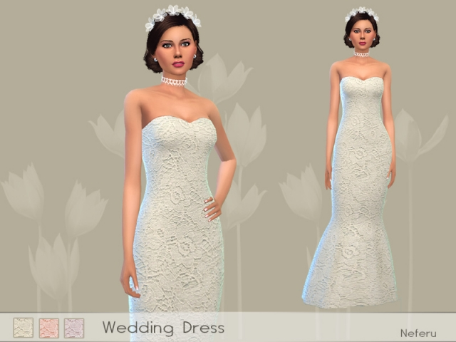 Wedding Dress by Neferu