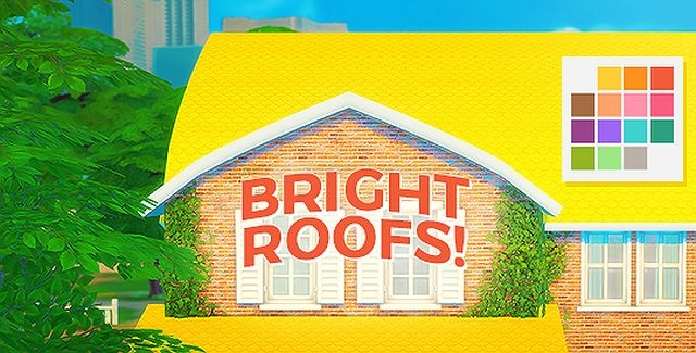 Bright Roof Recolors by Pxelbox