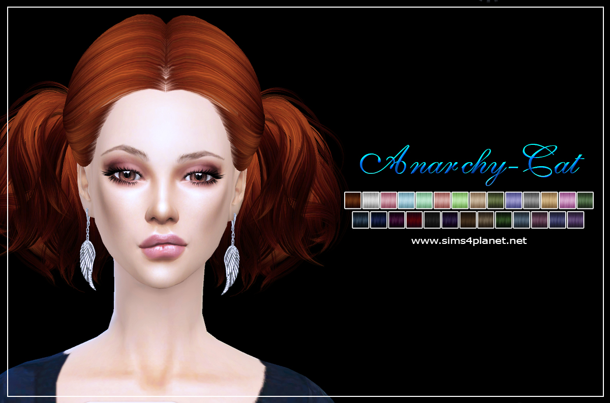 B-flysims hair ln088 by Anarchy-Cat