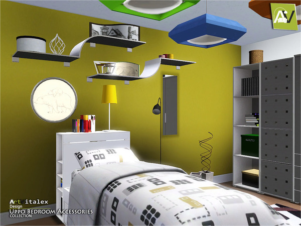 Uppo Bedroom Accessories by ArtVitalex