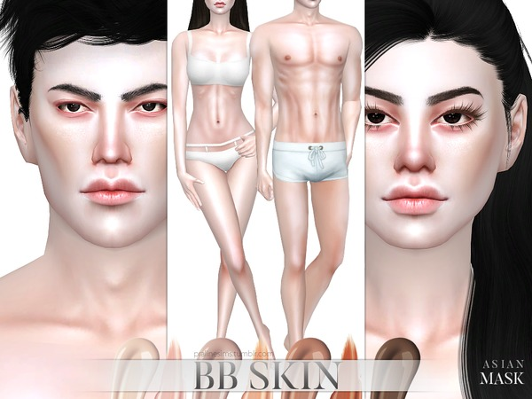 PS BB Skin by Pralinesims
