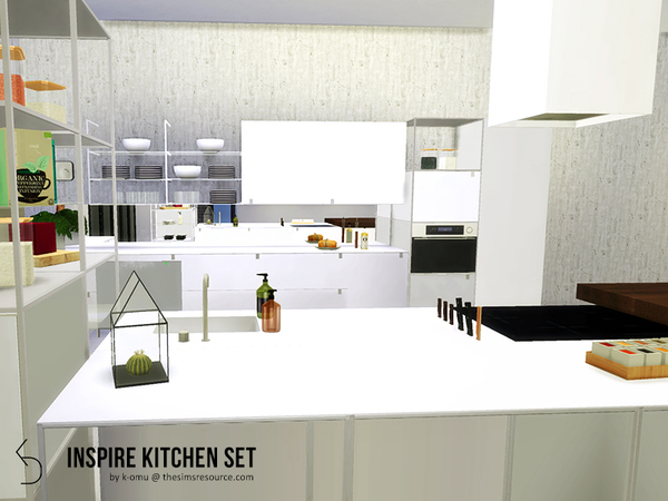 INSPIRE Kitchen Set by k-omu