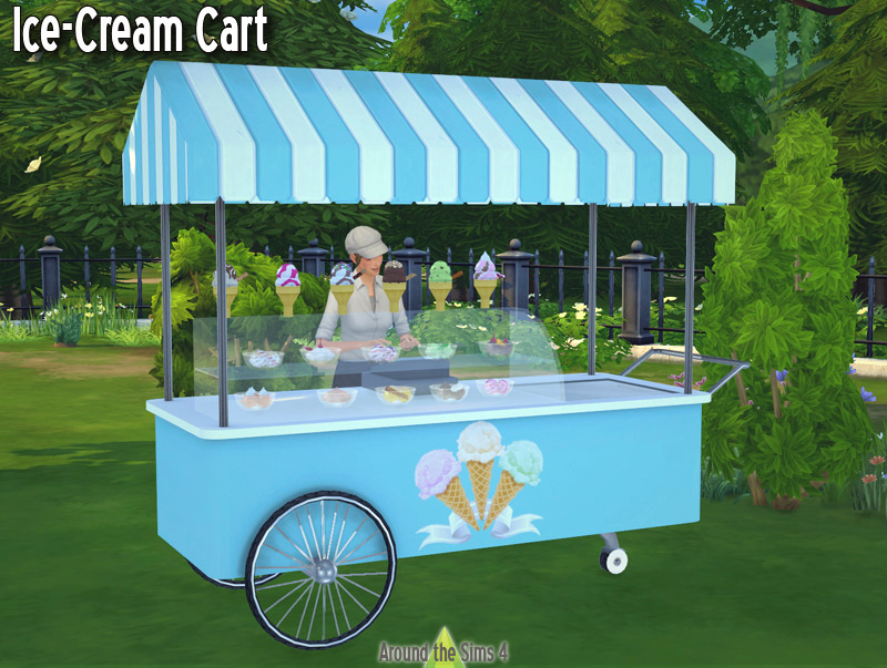 Ice-Cream Cart by Sandy