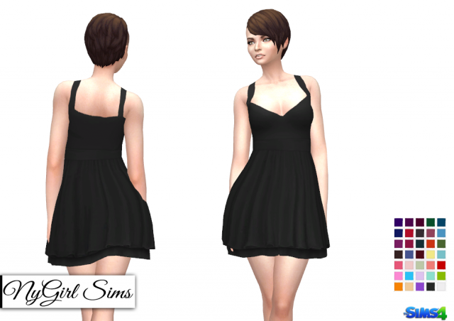 Layered Tank Sundress by NyGirl