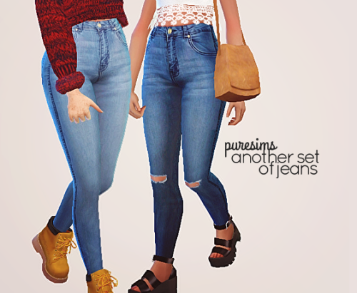 another set of jeans by puresims