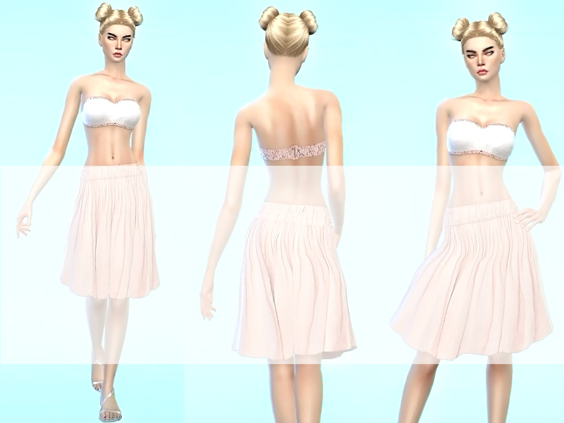 romantic_white_rose_Summeroutfit by sweetsims4