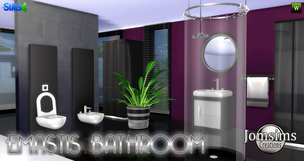Emastis Bathroom Set by JomSims