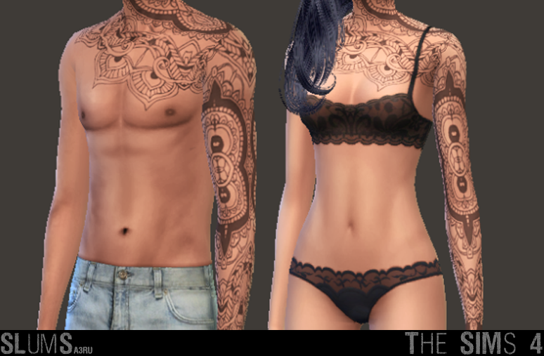 Tattoos for Males and Females by A3ru
