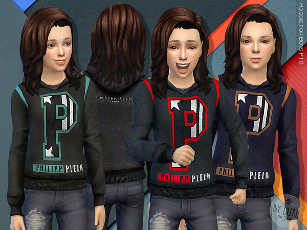 Hoodie for Boys P10 by lillka