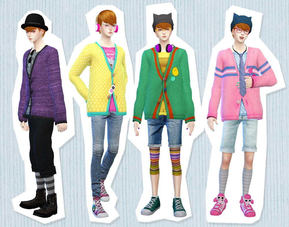 Mens Cardigans by imadako