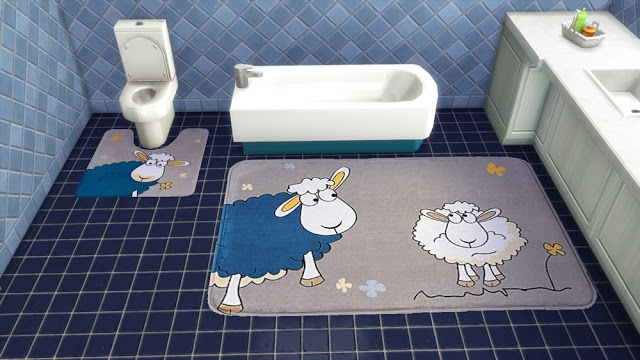 Set of rugs for bathroom Funny pictures by Natatanec
