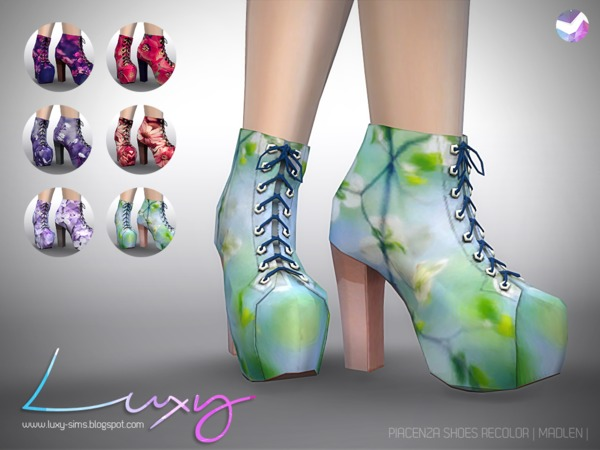Piacenza Shoes [RECOLOR] by LuxySims3