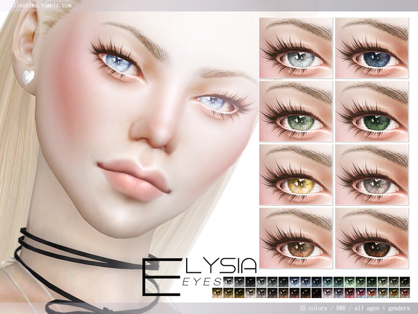 Elysia Eyes N86 by Pralinesims