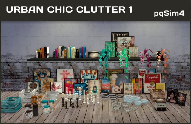 Urban Chic Clutter by pqsim4