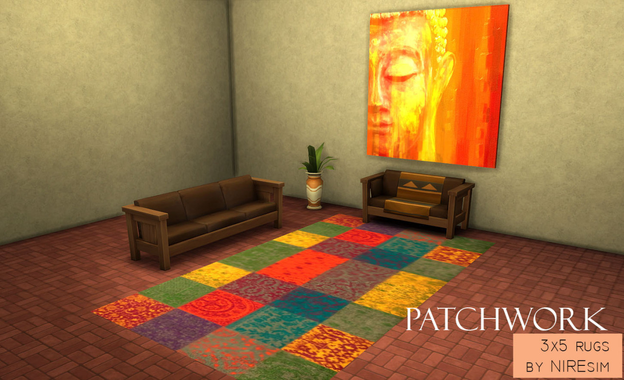 Patchwork Rugs by NireSim
