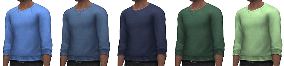 Basic Sweater for Males by Rope