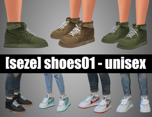 Sneakers for Males and Females by S4Seze