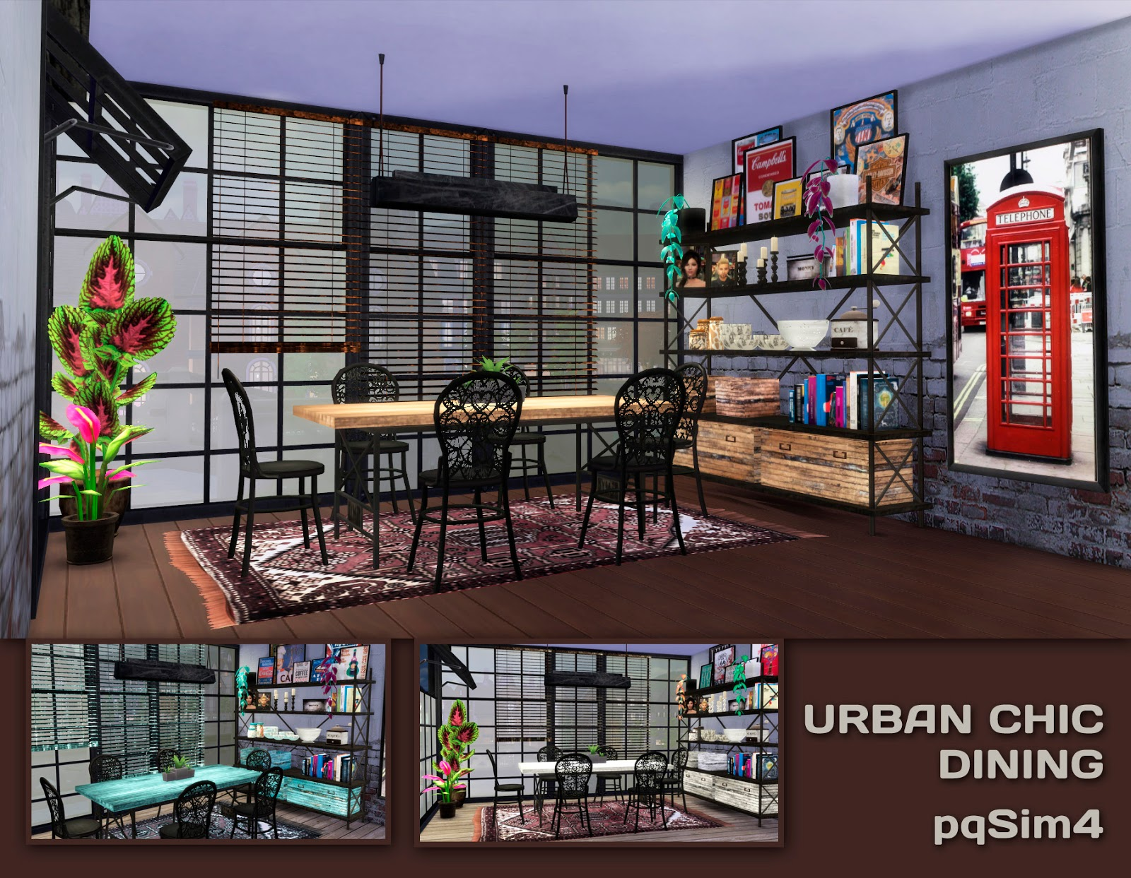 Urban Chic Dining Set by pqsim4