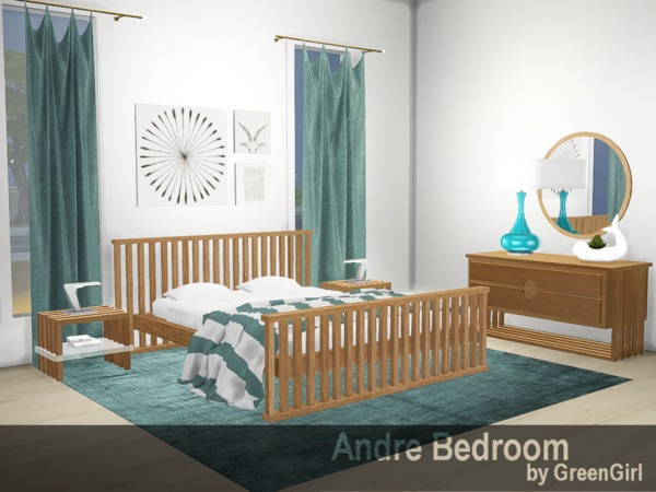 Green_Girly100's Andre Bedroom