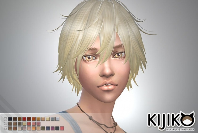 Shaggy Hair for Female by Kijiko