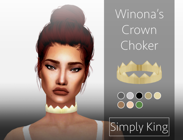 Winonas Crown Choker by Simply King