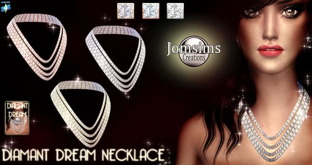 Diamant Dream Necklace by JomSims