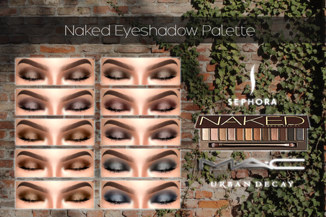 Naked Eye-shadow Palette by maccosimetics