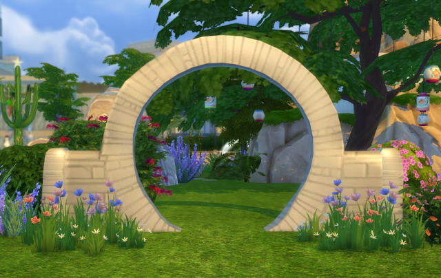 Свадебная арка Old Mill Wedding Arch (TS3 Store) by Biguglyhag