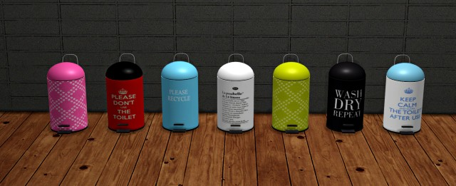 TRASH CANS by leo-sims