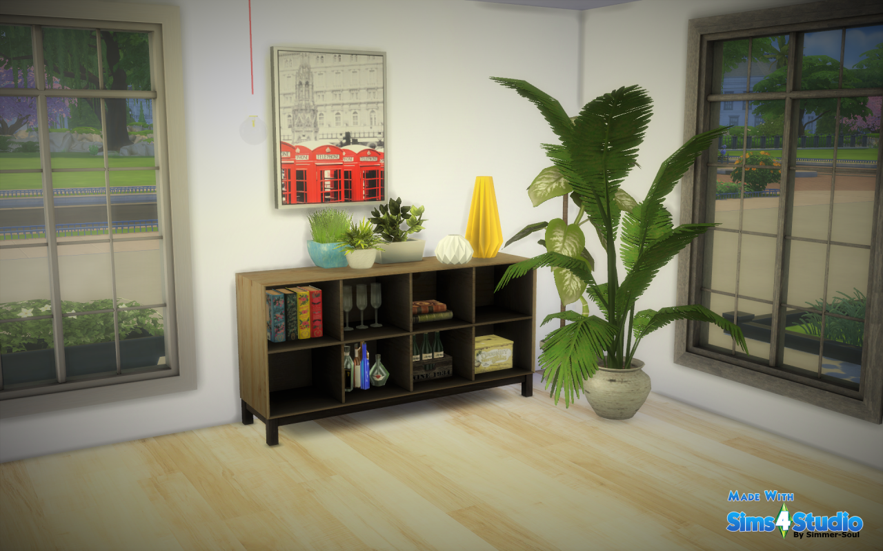IKEA NORNS Sideboard by SimmerSoul