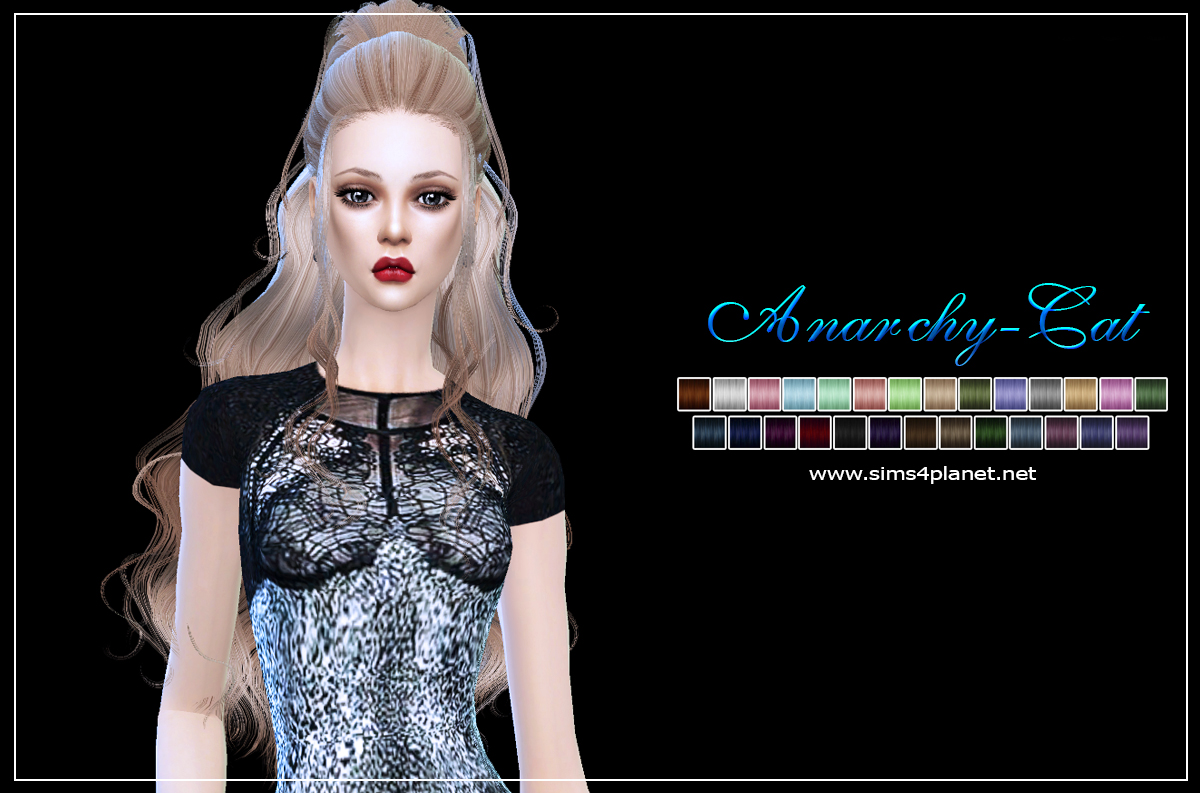 Newsea Kaysa Hairstyle by Anarchy-Cat
