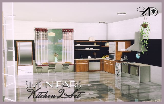 In Paris Kitchen Conversions by Daer0n