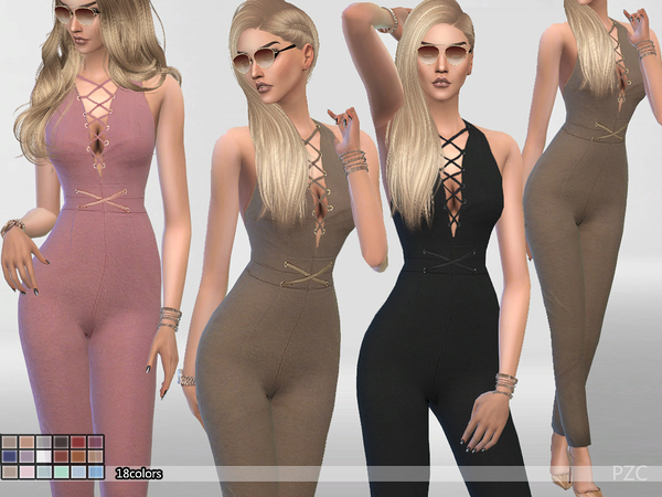Burning_Inside Summer Jumpsuit by Pinkzombiecupcakes
