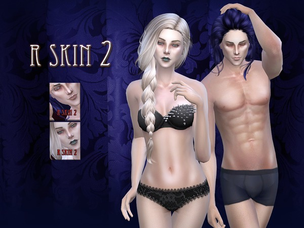 R skin 02 - FEMALE by RemusSirion