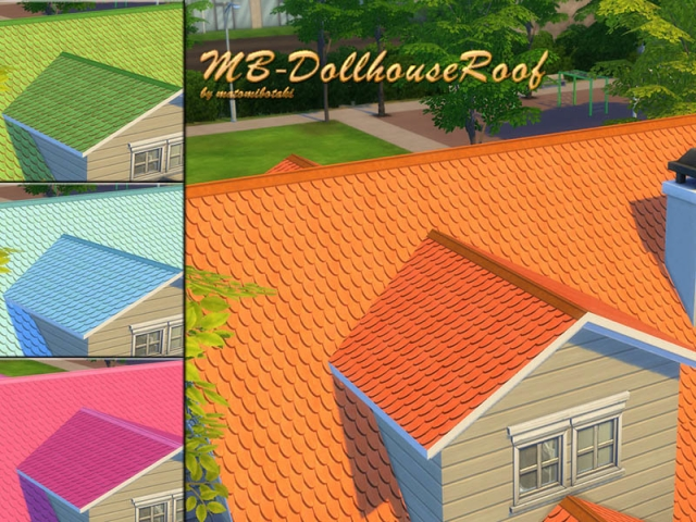 Dollhouse Roof by matomibotaki