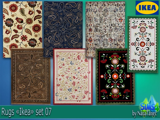 IKEA Rugs set 07 by Natatanec