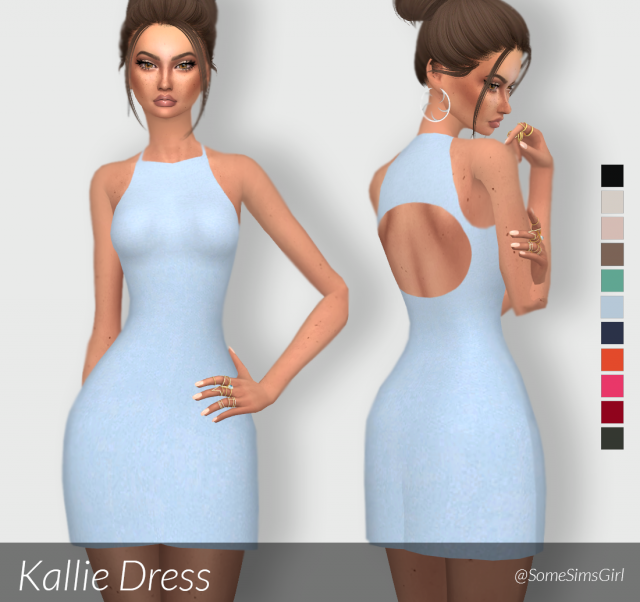 Kallie Dress by SomeSimsGirl