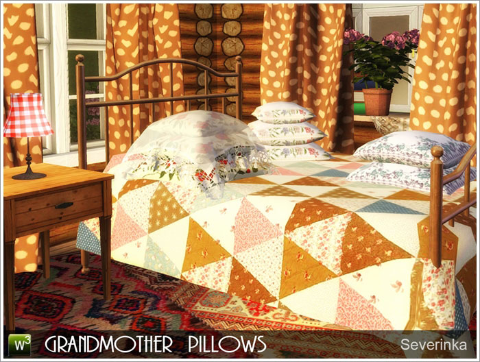 Grandmother's Pillows by Severinka