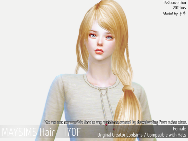 Hair170F by MaySims