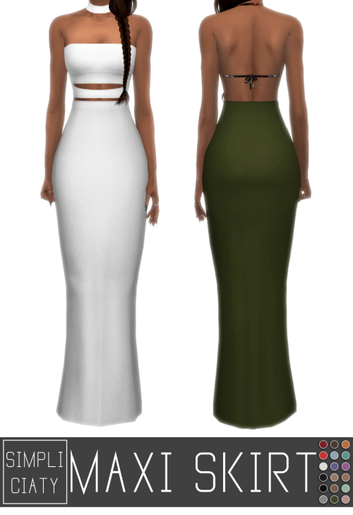 Maxi Skirt by Simpliciaty