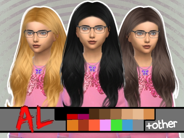 Ade Darma Viola Hair Converted for Girls by ArthurLumiereCC