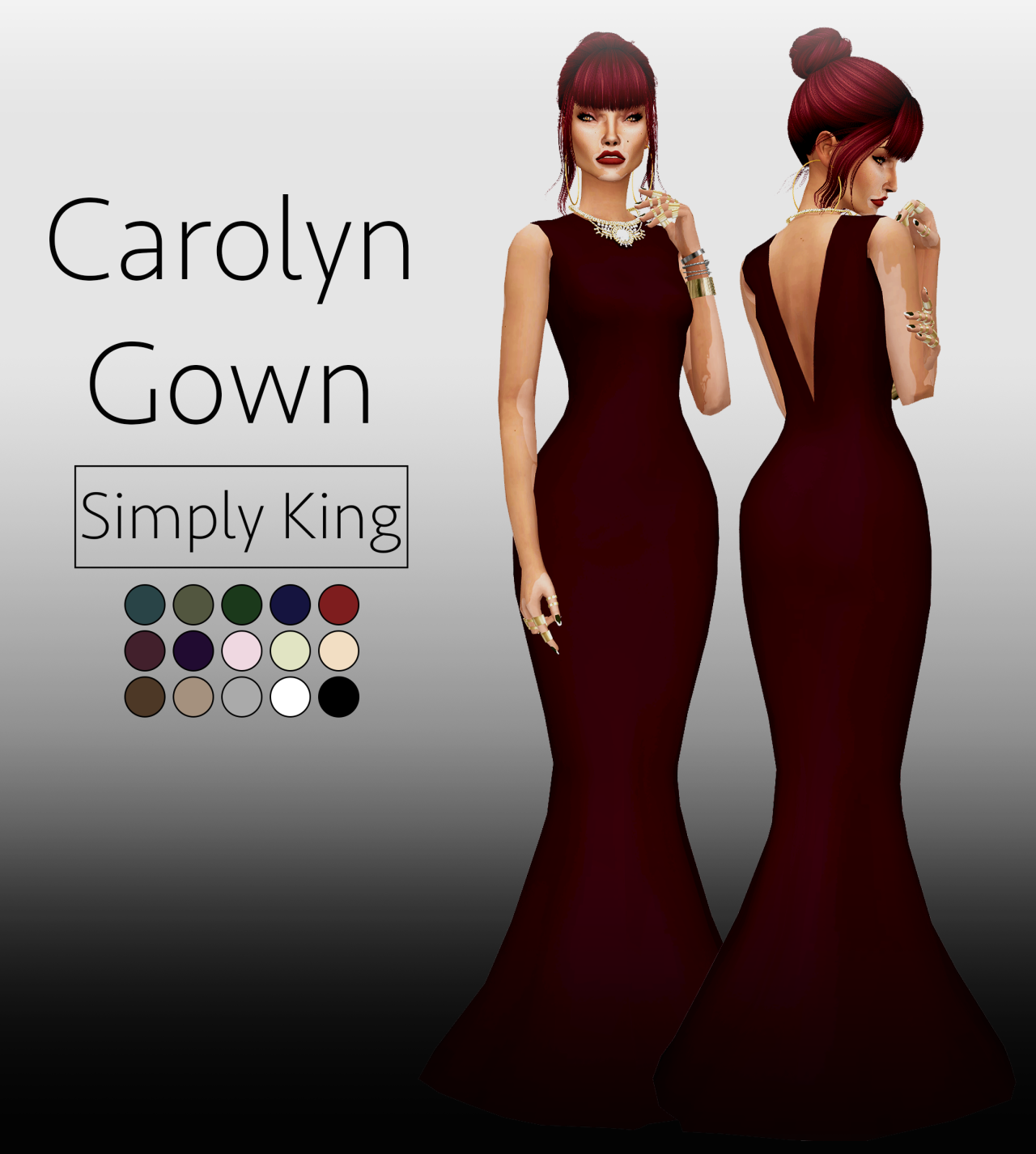 Carolyn Gown by SimplyKing