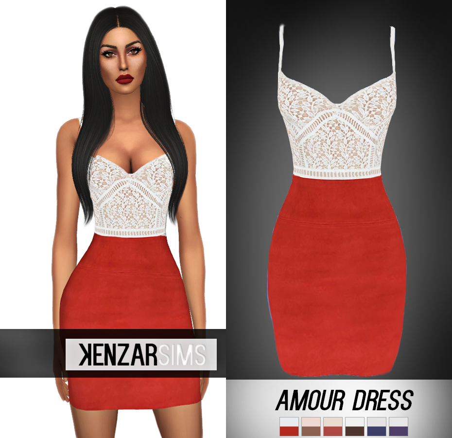 Amour Dress by KenzarSims