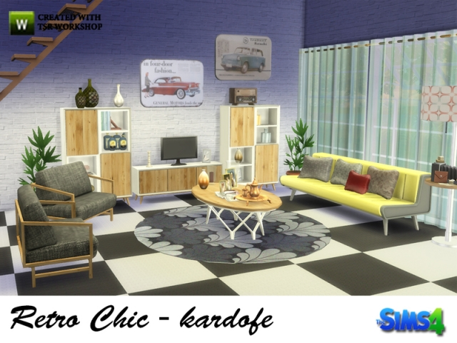 Retro Chic by kardofe