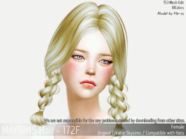 Hair172F by MaySims