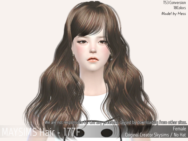 Hair177F by MaySims